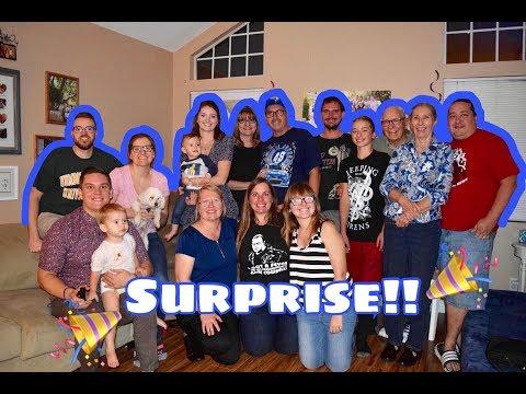 Warren's Surprise Party