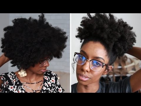 How To Moisturize Dry Natural Kinky Hair