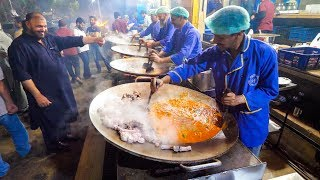 VOLCANIC STIR FRY   Kat-A-Kat Masters in Pakistan   Amazing Street Food in the World!