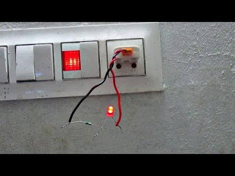 Connect LED to AC Power - How to connect LED to 220v AC power supply