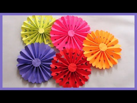 DIY PAPER CRAFTS FOR DECORATION | WALL DECOR | ROOM DECOR