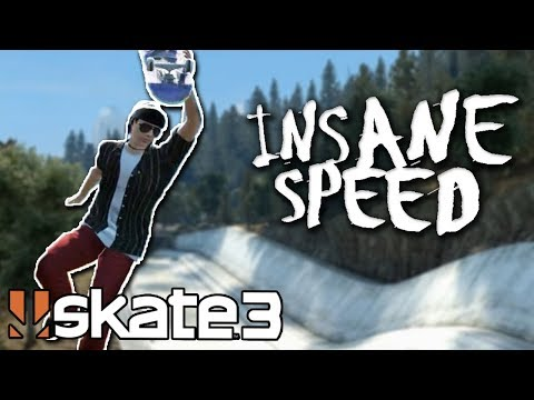 Skate 3: INSANE SPEED GLITCH CHALLENGE