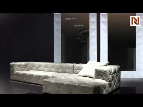 Eva - Vertical Standing White Lacquer Floor Mirror VGDVLS544