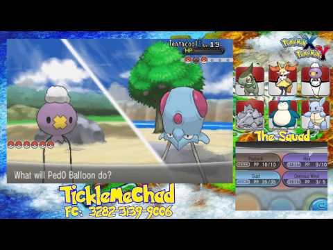 Pokemon Y Nuzlocke Ep#10: Route 8 & Cyllage City