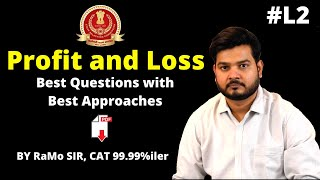 6:00 PM || SSC CGL 2019 || Profit & Loss (Day 2) || Topic Wise Classes || By RaMo Sir || 15
