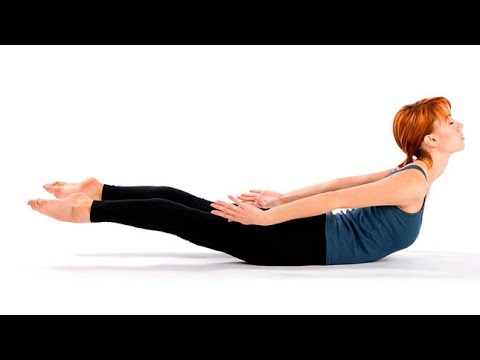 Shalabhasana (Locust Pose) Part 4 for Sciatica Back pain Slip disc Spinal health