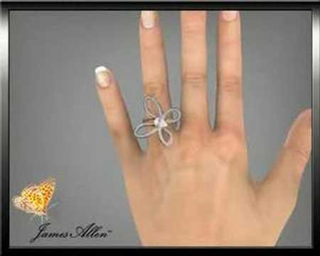 Engagement Rings :  Lady Diamond Butterfly !