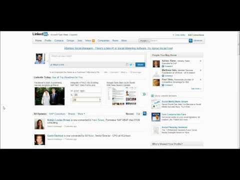 How do I set up a custom URL for my LinkedIn profile?