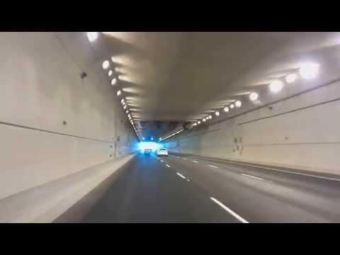 Calgary airport tunnel