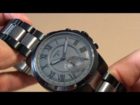 Fossil Q Grant Gen 2 Hybrid Smartwatch FTW1139