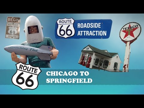 Route 66 Road Trip Day 1 Chicago to Springfield