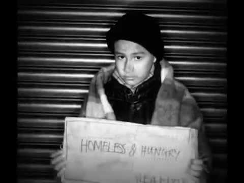 Homeless Children On American Streets