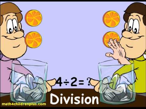 How to do division | 1st and 2nd Grade Math