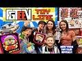 FGTEEV TOYS Grannys House Baldis Basics Huge Reveal FUNnel Fam New York Toy Fair Vlog