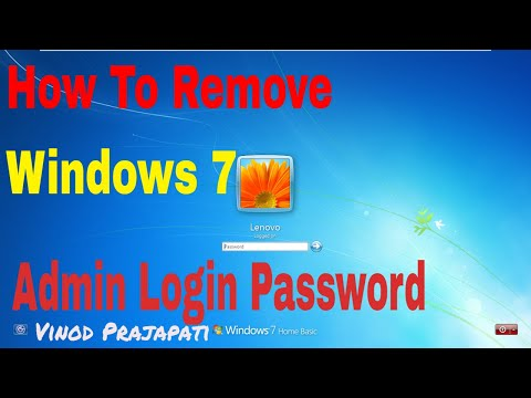 How to Remove Windows 7 User Password Without Any Software