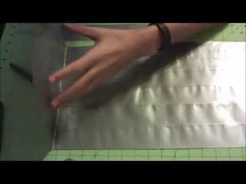 How to make a Duct Tape Duffle Bag Part-1!