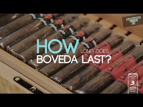 How long does Boveda Last in a Humidor? | #AskBoveda
