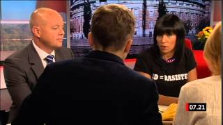 Björn Söder vs Rosanna Dinamarca i Gomorron Sverige