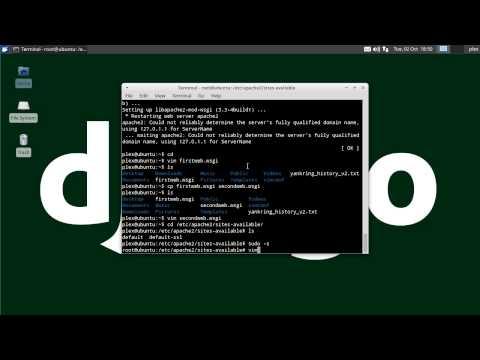 Install Django on Apache with mod_wsgi on Linux