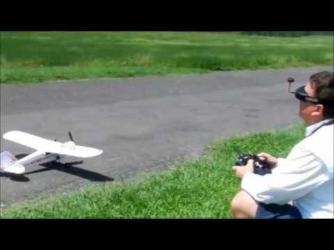 Hobbyzone Super Cub FPV flight