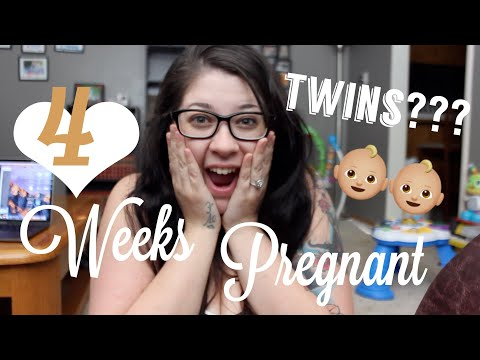 TWINS???| 4 WEEKS PREGNANT