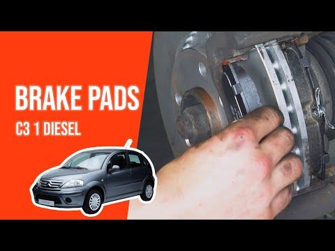 [ TUTORIAL DIESEL CITROËN C3 ] How to change brake pads