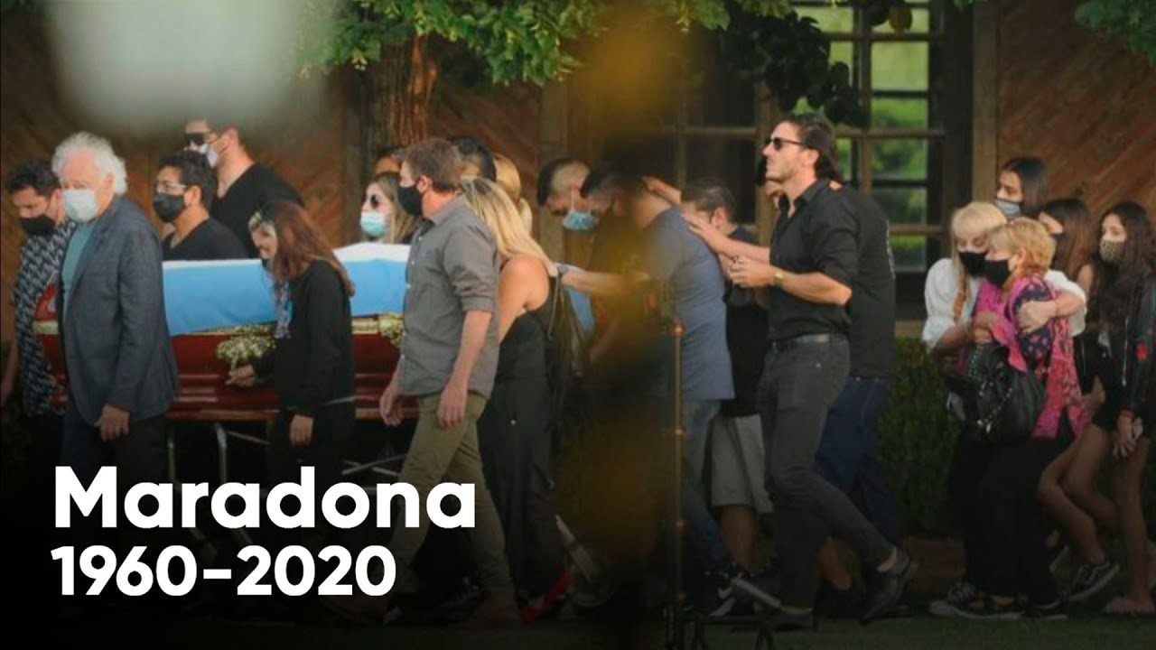 Maradona ya descansa en paz junto a sus padres: así fue su entierro en el cementerio de Bella Vista