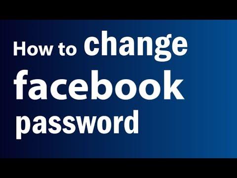 How To Change Facebook Password   Change Your Facebook Password