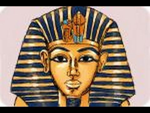 How to Draw Tutankhamun's Death Mask