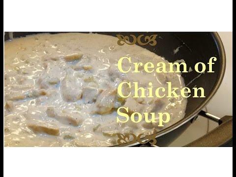 Gluten Free Cream of Chicken Soup