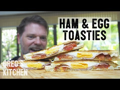 HOW TO COOK HAM AND EGG TOASTIES - Greg's Kitchen