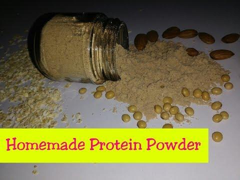 Homemade Protein Powder/How to make protein powder at home/घर में प्रोटीन पाउडर कैसे बनाये/