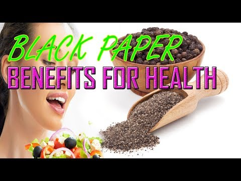 BLACK  PAPER  BENEFITS  FOR  HEALTH 🍏
