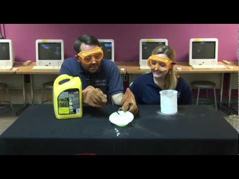 Liquid Nitrogen and Antifreeze!