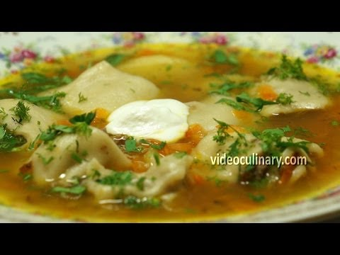 Grandma's Dumpling Soup recipe by videoculinary.com