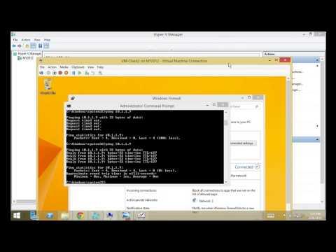 Routing Part2 In Windows Server 2012 R2 By Eng. Abdullah Sawalha