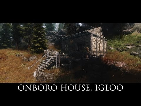 TES V - Skyrim Mods: Onboro House, Igloo