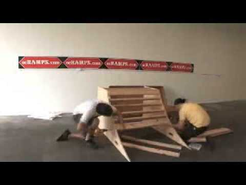 OC Ramps-- How to build a Skateboard Ramp!