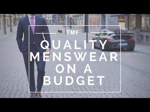 How to Afford Quality Clothing on a Budget   3 Tips