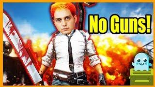 No Gun Run in PubG! [Melee Squad]
