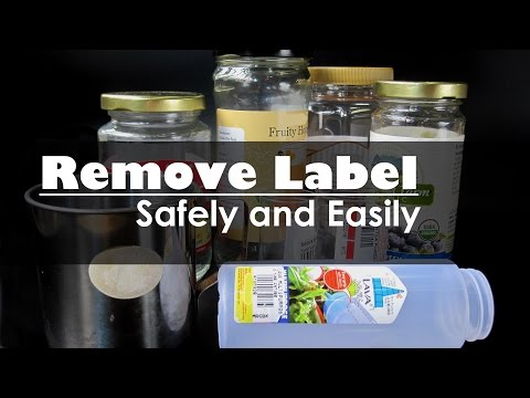 Remove Labels from Jars Using Common Household Item | Dietplan-101.com