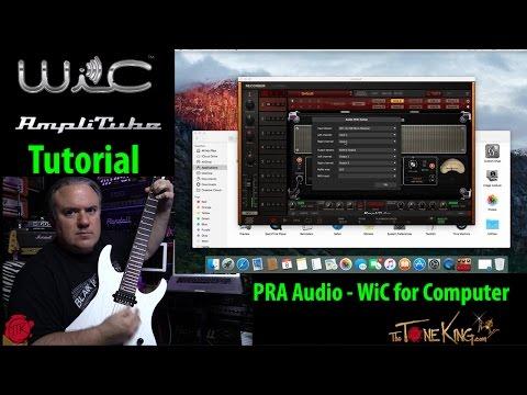 PRA Audio - AmpliTube & GarageBand Setup - WiC for Computer