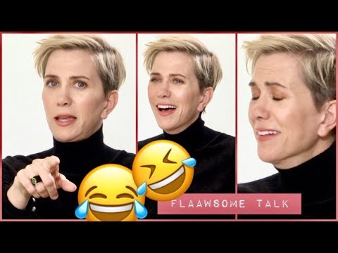 KRISTEN WIIG's Trick When She Breaks Down Laughing + Why She NEVER Watch SNL...