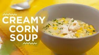 Resep Creamy Corn Soup   YUDA BUSTARA