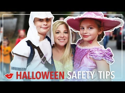 Halloween Safety Tips! | Kimmy from Millennial Moms