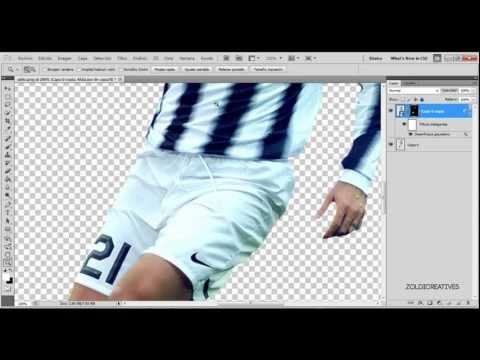 Como retocar un render Photoshop Cs5