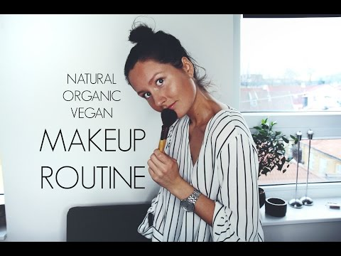 My makeup routine (natural, organic, vegan) | HOLISTICAL