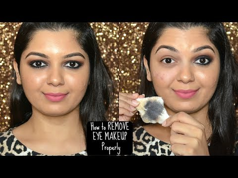 HOW TO REMOVE EYE MAKEUP PROPERLY | INCLUDING WATERPROOF  | HOW I REMOVE MY EYE MAKEUP