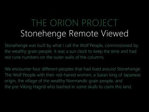 Stonehenge | Remote View | The Orion Project