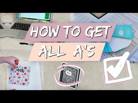 STUDY HACKS: HOW TO GET A 4.0 GPA | How I Got Straight A's